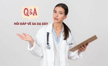Câu hỏi thường gặp về bệnh sa dạ dày